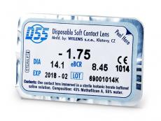 Kontaktní čočky Wilens - D55 WILENS (1čočka)