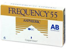 Kontaktní čočky CooperVision - Frequency 55 Aspheric (6čoček)