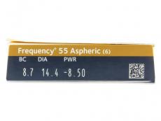 Frequency 55 Aspheric (6čoček) - Náhled parametrů čoček