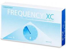 Měsíční levné kontaktní čočky - FREQUENCY XC (6čoček)