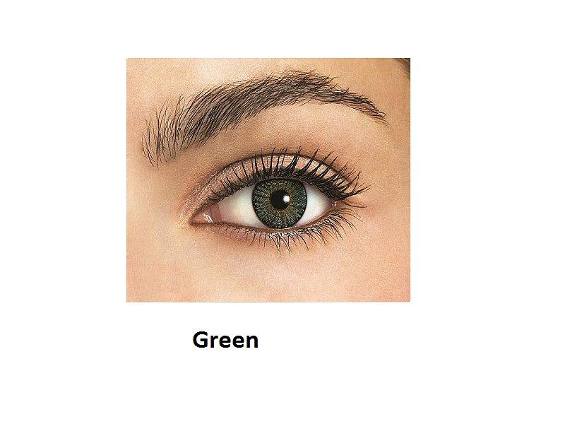 FreshLook ColorBlends - dioptrické (2čočky) - Green