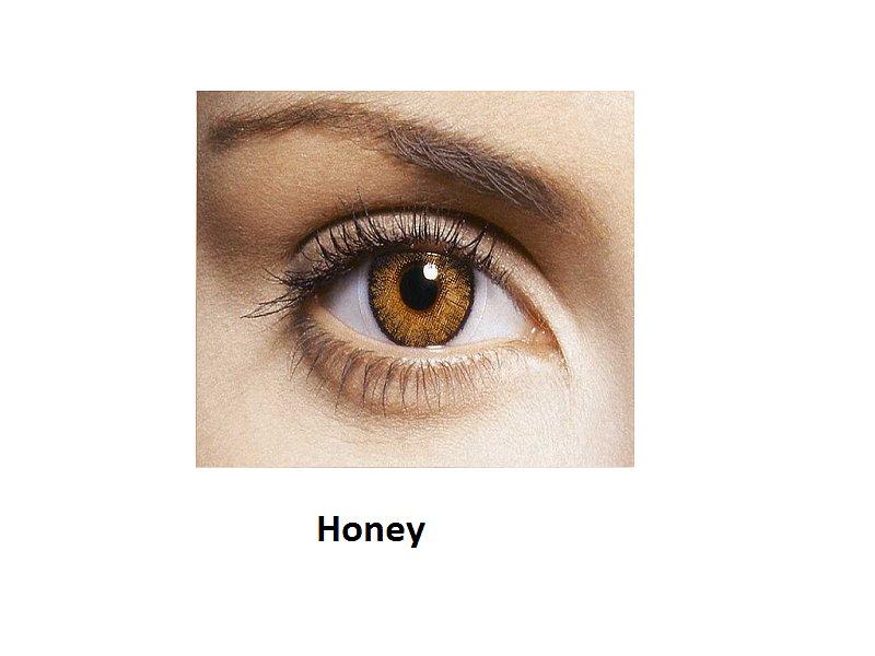 FreshLook ColorBlends - dioptrické (2čočky) - Honey