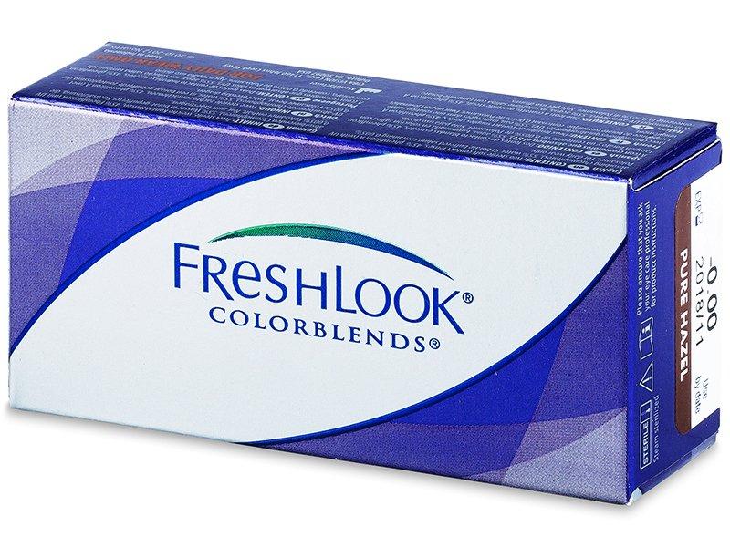 FreshLook ColorBlends - dioptrické (2čočky) - Barevné kontaktní čočky