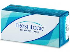 Kontaktní čočky Alcon - FreshLook Dimensions - nedioptrické (2čočky)