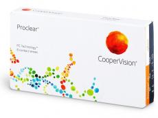 Měsíční levné kontaktní čočky - Proclear Compatibles Sphere (6čoček)