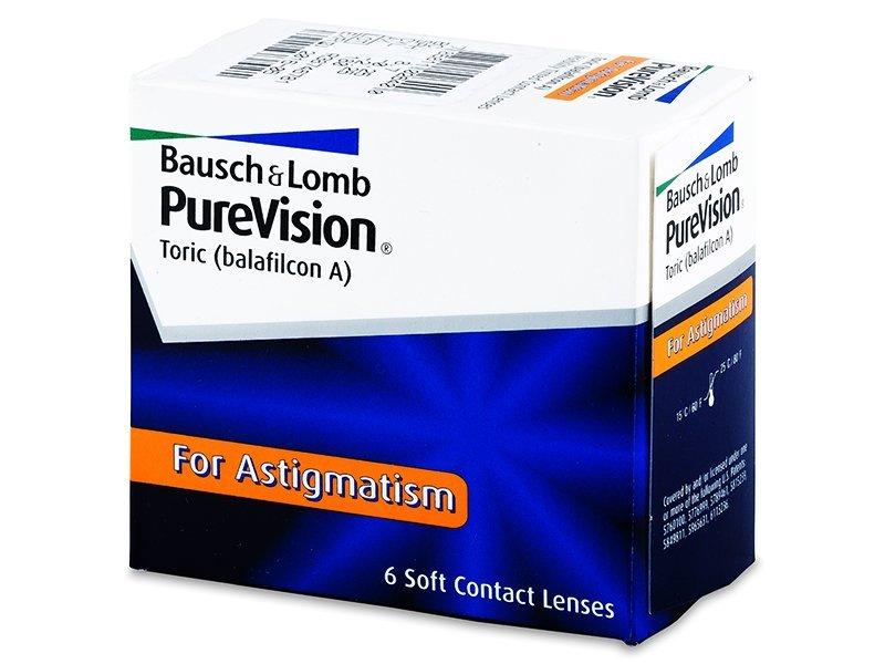 PureVision Toric (6čoček) - Torické kontaktní čočky