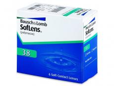 Měsíční levné kontaktní čočky - SofLens 38 (6čoček)