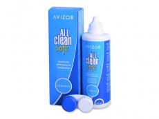 Roztoky na kontaktní čočky - čistící a dezinfekční oční roztoky - Roztok Avizor All Clean Soft 350 ml