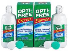 Roztoky na kontaktní čočky - čistící a dezinfekční oční roztoky - Roztok OPTI-FREE Express 2x355ml