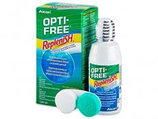 Roztoky na kontaktní čočky - čistící a dezinfekční oční roztoky - Roztok OPTI-FREE RepleniSH 120ml