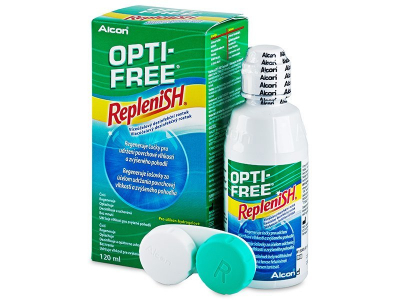 Roztok OPTI-FREE RepleniSH 120 ml