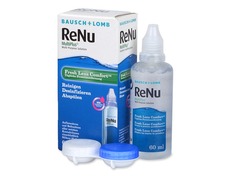 Roztok ReNu MultiPlus 60ml  - Čistící roztok