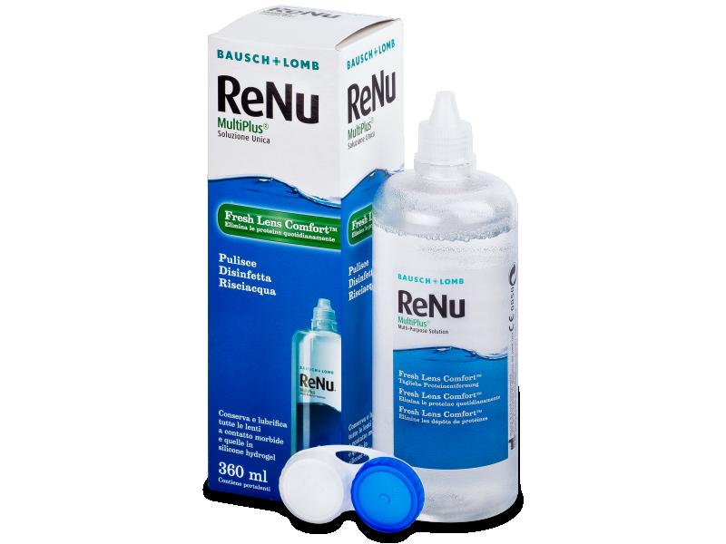 Roztok ReNu MultiPlus 360 ml Při zakoupení dvojbalení nebo trojbalení roztoku ReNu MultiPlus 360 ml máte poštovné ZDARMA.