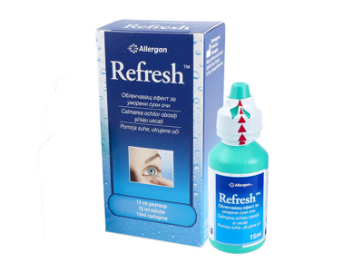 Oční kapky Refresh 15ml