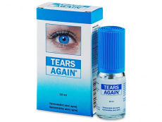 Oční kapky - zvlhčení očí - umělé slzy - Oční sprej Tears Again 10ml