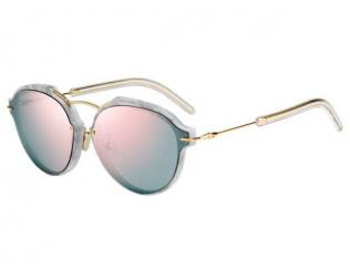 Kulaté sluneční brýle - Christian Dior DIORECLAT GBZ/0J