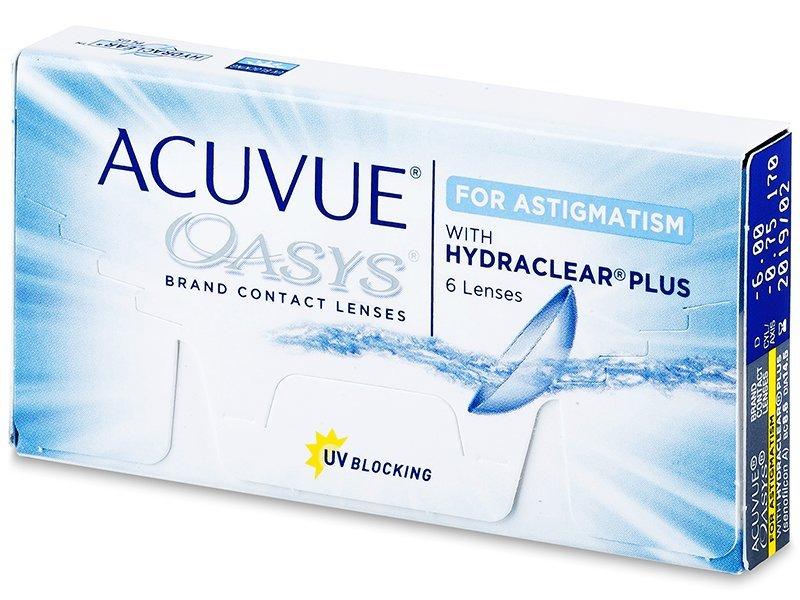 Acuvue Oasys for Astigmatism (6čoček) - Torické kontaktní čočky