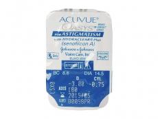 Acuvue Oasys for Astigmatism (6čoček) - Vzhled blistru s čočkou