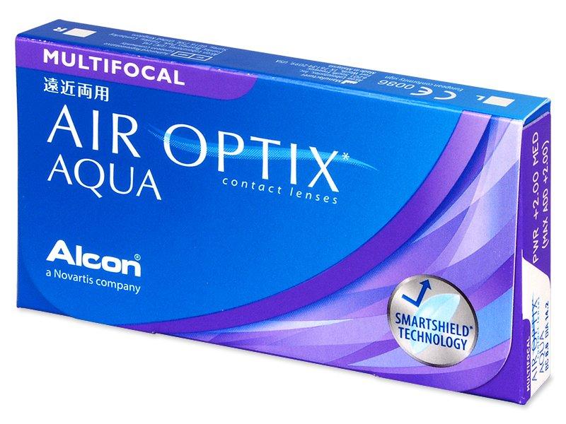 Air Optix Aqua Multifocal (6čoček) - Multifokální kontaktní čočky