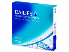 Kontaktní čočky Alcon - Dailies AquaComfort Plus (90čoček)
