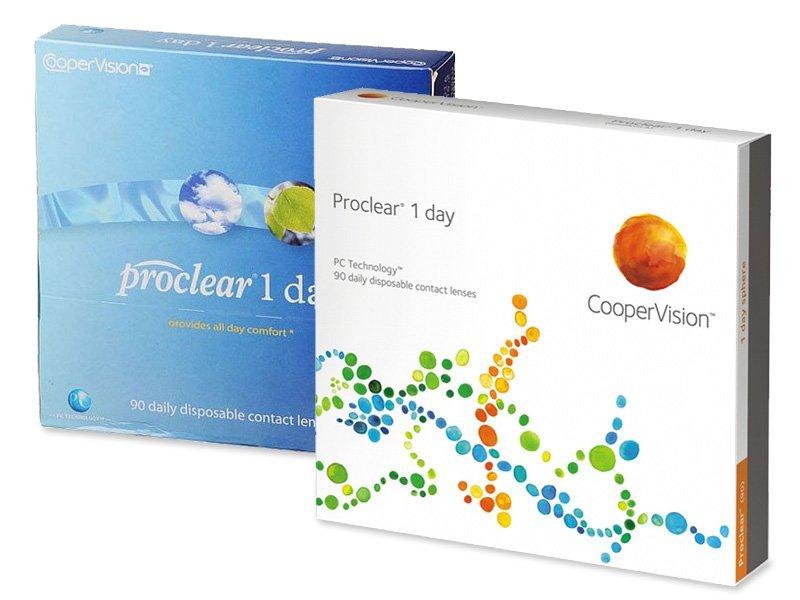 Předchozí design - Proclear 1 Day (90čoček)