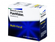 Multifokální kontaktní čočky - PureVision Multi-Focal (6čoček)