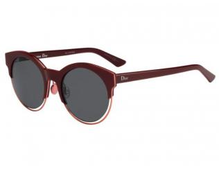 Kulaté sluneční brýle - Christian Dior DIORSIDERAL1 RMD/BN