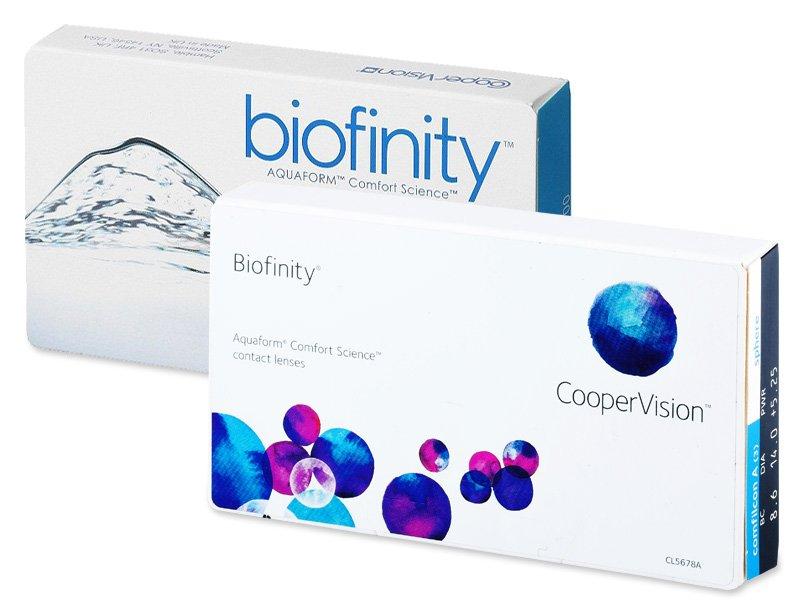 Biofinity (6čoček) - Předchozí design