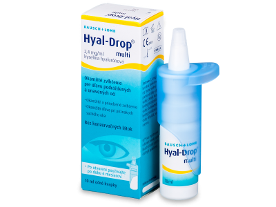 Oční kapky Hyal-Drop Multi 10 ml