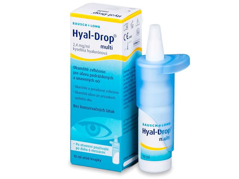 Oční kapky Hyal-DropMulti 10ml  - Oční kapky