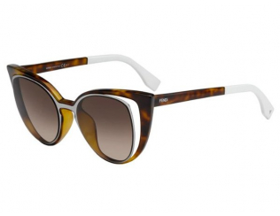 Sluneční brýle Cat Eye - Fendi FF 0136/S NY2/J6