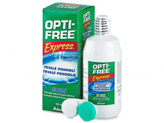 Roztoky na kontaktní čočky - čistící a dezinfekční oční roztoky - Roztok OPTI-FREE Express 355 ml