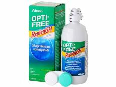 Roztoky na kontaktní čočky - čistící a dezinfekční oční roztoky - Roztok OPTI-FREE RepleniSH 300 ml