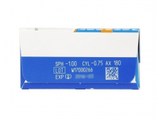 SofLens Daily Disposable Toric (30čoček) - Náhled parametrů čoček