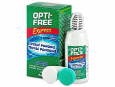 Roztoky na kontaktní čočky - čistící a dezinfekční oční roztoky - Roztok OPTI-FREE Express 120ml