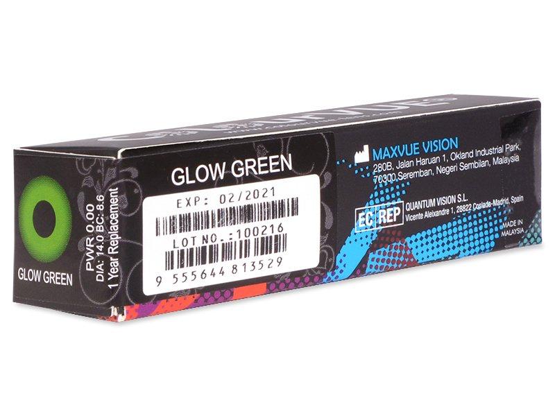 Crazy GLOW (2čočky) - Náhled parametrů čoček