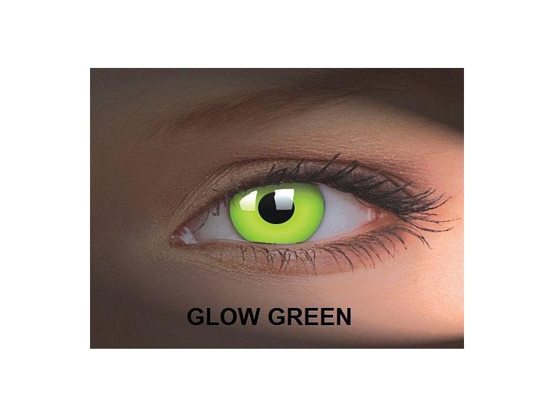 Crazy GLOW (2čočky) - Glow Green