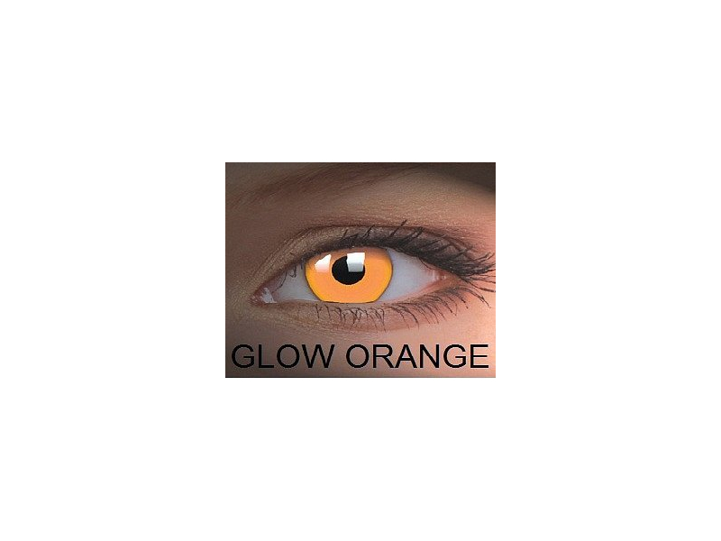 Crazy GLOW (2 čočky) - Glow Orange