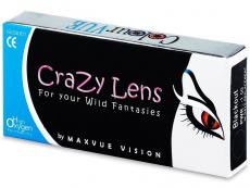 Kontaktní čočky Maxvue Vision - Crazy ColourVUE - tříměsíční dioptrické (2čočky)