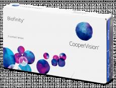 Kontaktní čočky CooperVision - Biofinity (3čočky)