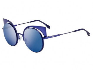 Extravagantní sluneční brýle - Fendi FF 0177/S H9D/P6
