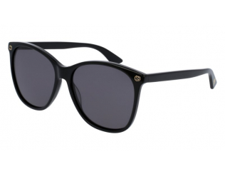 Sluneční brýle - Oválný - Gucci GG0024S-001