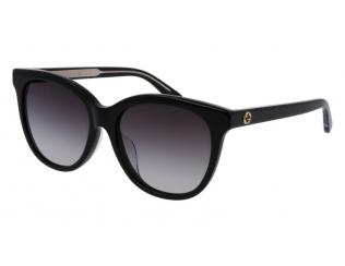 Sluneční brýle - Oválný - Gucci GG0081SK-001