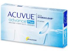 Dvoutýdenní / Čtrnáctidenní kontaktní čočky - Acuvue Advance PLUS (6čoček)