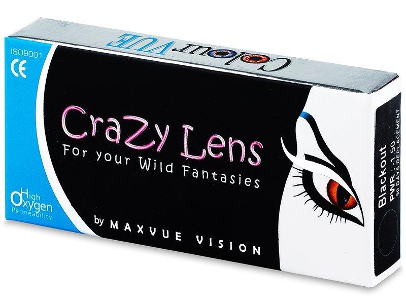 Crazy ColourVUE tříměsíční (2čočky) - Barevné kontaktní čočky