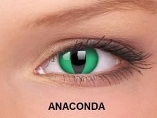 Crazy ColourVUE tříměsíční (2čočky) - Anaconda