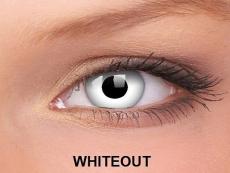 Crazy ColourVUE tříměsíční (2čočky) - WhiteOut