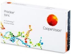 Kontaktní čočky CooperVision - Proclear Toric (6čoček)