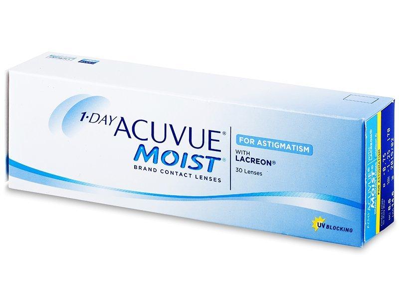 1-Day Acuvue Moist for Astigmatism 30 čoček
