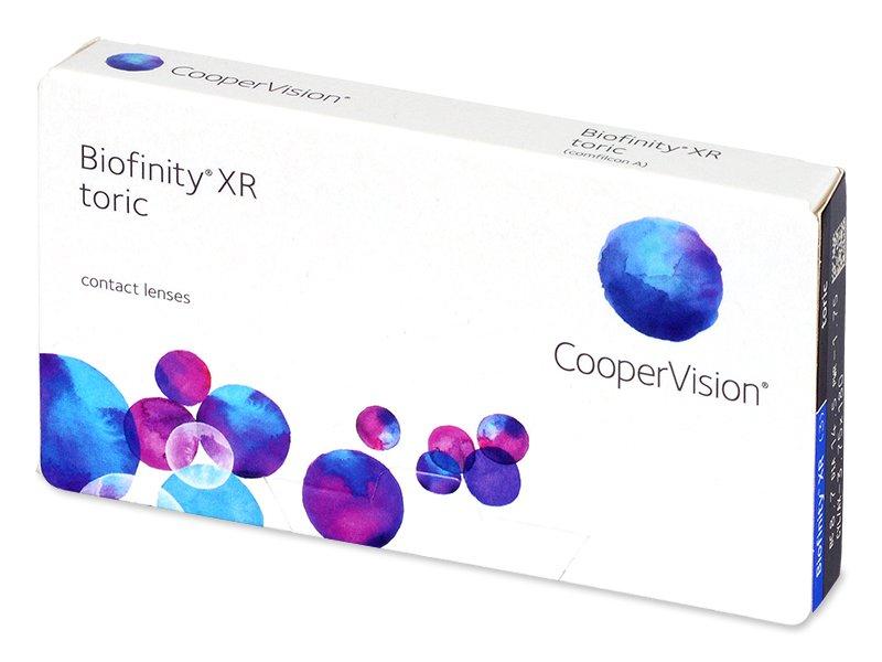 Biofinity XR Toric (3 čočky)